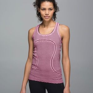 Size 4 Lululemon Swiftly Tech racerback tank